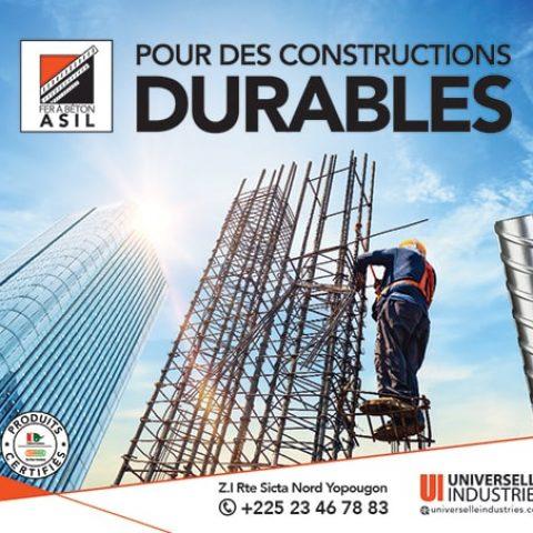 Pour des constructions durables